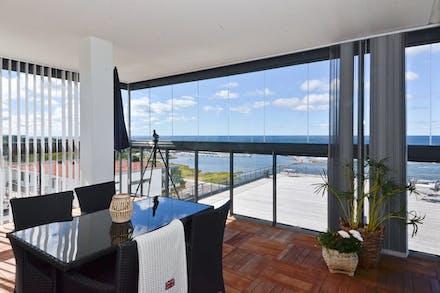 Inglasad balkong om 26 m² förlänger säsongen