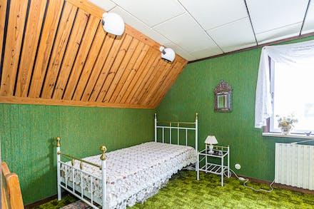 Sovrum 4 på andra gaveln...