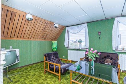 Stort rum (sovrum 3), som lätt kan delas av till två separata sovrum