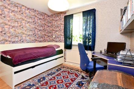 Sovrum 1 på övre plan