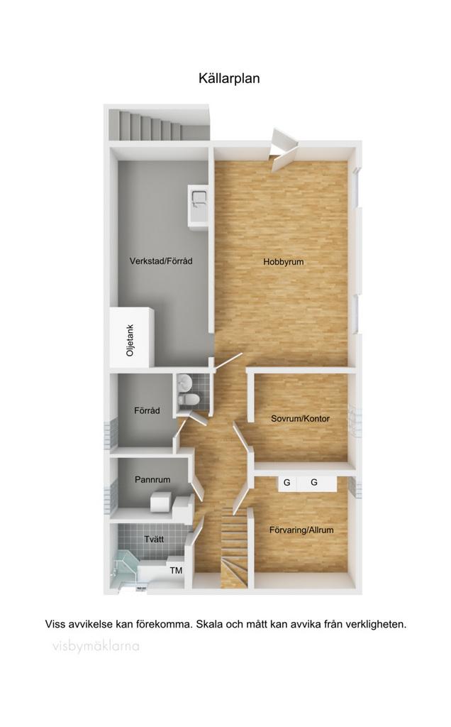 Planskiss källare