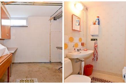 Klädvårdsrum samt separat wc