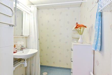 Stambytt badrum med wc/dusch