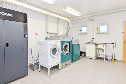 Gemensam tvättstuga renoverad 2017