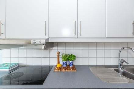 Funktionellt kök i gott skick