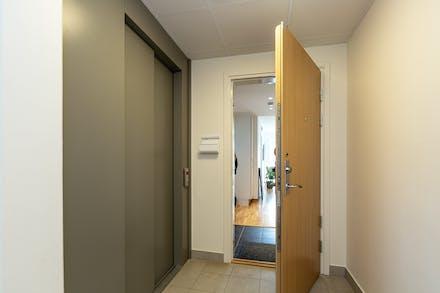 Här finns även hiss, välkommen in!