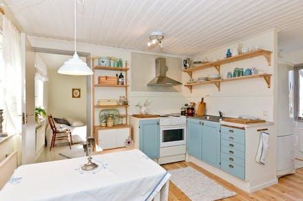 Från köket nås sovrum 1