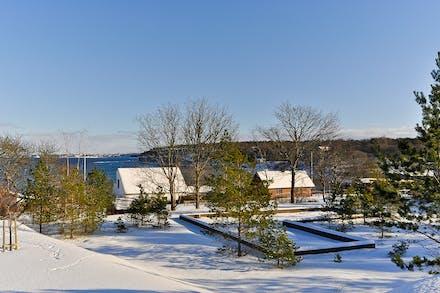 Härifrån ser man in till Visby