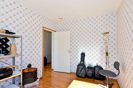 Sovrummet från motsatt vinkel