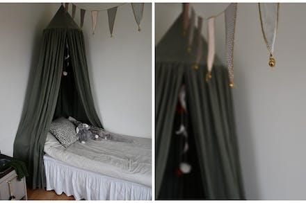 Detaljbild sovrum