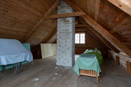 Loftet på gårdshuset
