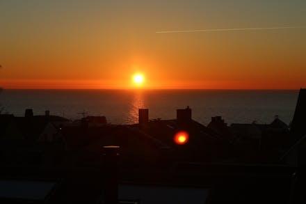 Njutbara solnedgångar