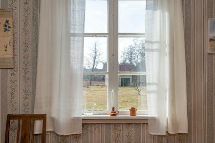Fönster mot trädgården