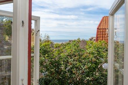Utsikt från köksfönster